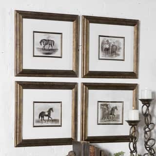 Uttermost Horses Canvas Art (Set of 4)|https://ak1.ostkcdn.com/images/products/9270842/P16434820.jpg?impolicy=medium