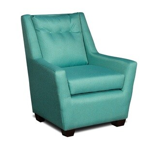 LCFC Home Margo Crystal Song Blue Arm Chair