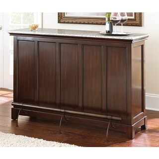 Norwood Home Bar with Foot Rail by Greyson Living