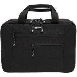 "Mobile Edge - Canvas Eco-Friendly 15.6"" Laptop/Tablet Briefcase - Black"
