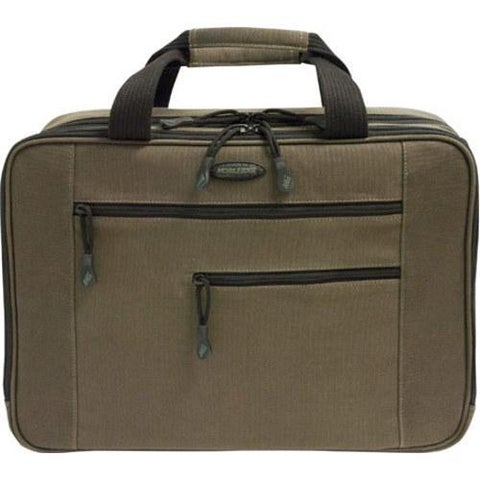 """Mobile Edge - Canvas Eco-Friendly 15.6"""" Laptop/Tablet Briefcase - Olive Green"""