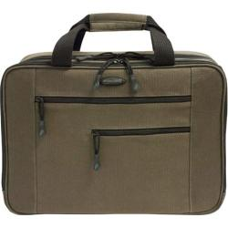 "Mobile Edge - Canvas Eco-Friendly 15.6"" Laptop/Tablet Briefcase - Olive Green"