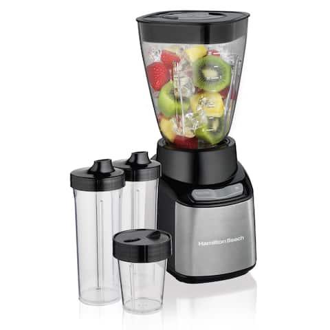 Hamilton Beach 52400 Stay or Go Plasic Jar Blender
