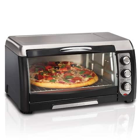 Hamilton Beach Black 6-slice Toaster Oven w/ Broiler