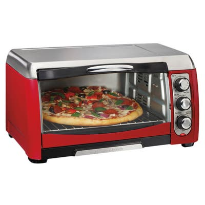 Hamilton Beach Red Ensemble 6-slice Toaster Oven w/ Broiler