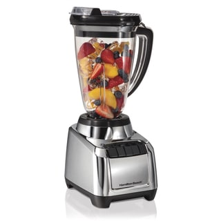 Hamilton Beach Chrome MultiBlend 48-ounce Tritan Jar Blender