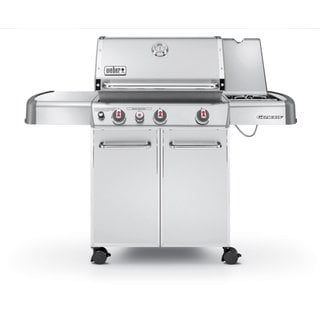 Weber Genesis S-330 Stainless Steel Natural Gas Grill