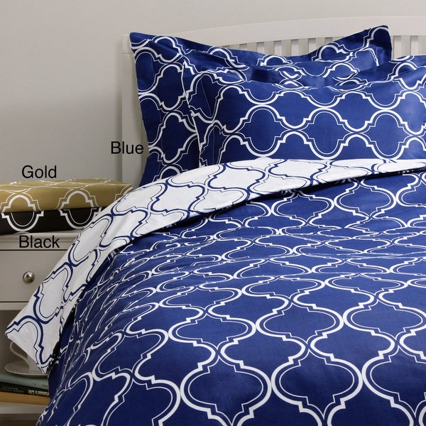 Tangier 300 Thread Count Cotton 3-piece Duvet Cover Set