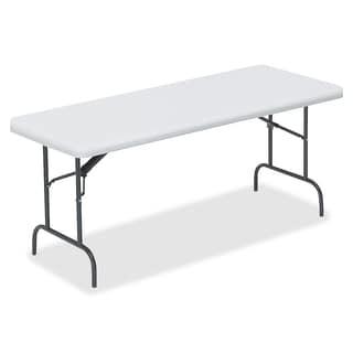 Lorell LLR66652 60-inch Ultra Light Banquet Table