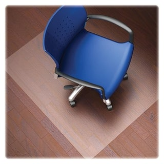 Lorell LLR82827 Nonstudded Design Hardwood Surface Chairmat