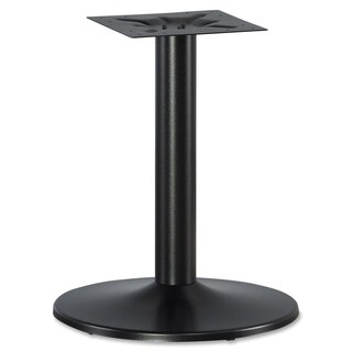 Lorell LLR87241 Essentials Black Conference Table Base