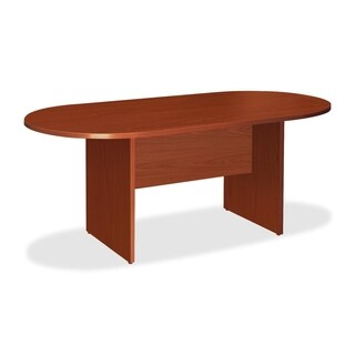 Lorell LLR87373 Essentials Cherry Conference Table