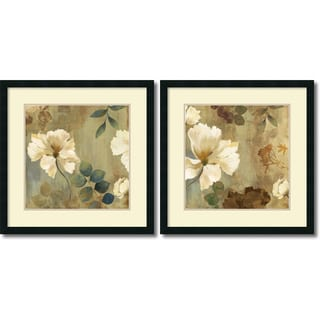 Link to Framed Art Print 'Golden Spaces  - set of 2' by Asia Jensen 26 x 26-inch Each Similar Items in Art Prints