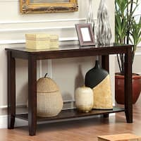 Furniture of America Kalani Mosaic Insert Top Sofa Table