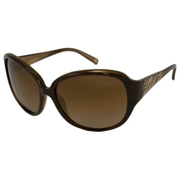 Tommy Bahama Women's TB7007 Rectangular Sunglasses
