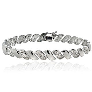 1/2ct TDW Diamond San Marco Fashion Bracelet