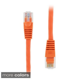 GearIT RJ45 CAT5E 14-feet Molded Ethernet Network Patch Cable (Pack of 5)