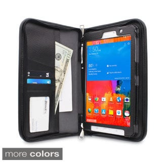 rooCASE Executive Portfolio Leather Case Cover and Stylus for Samsung Galaxy Tab Pro 8.4 SM-T320