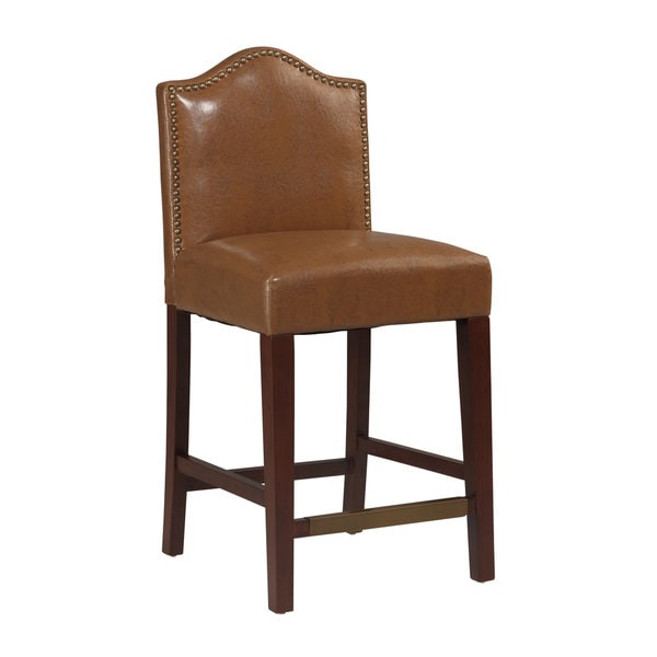 Linon Manor Counter Stool Russet Free Shipping Today  : Linon Manor Counter Stool Russet a99e71bd 7207 4ce5 a2ea c5c29f37a348600 from www.overstock.com size 600 x 600 jpeg 17kB
