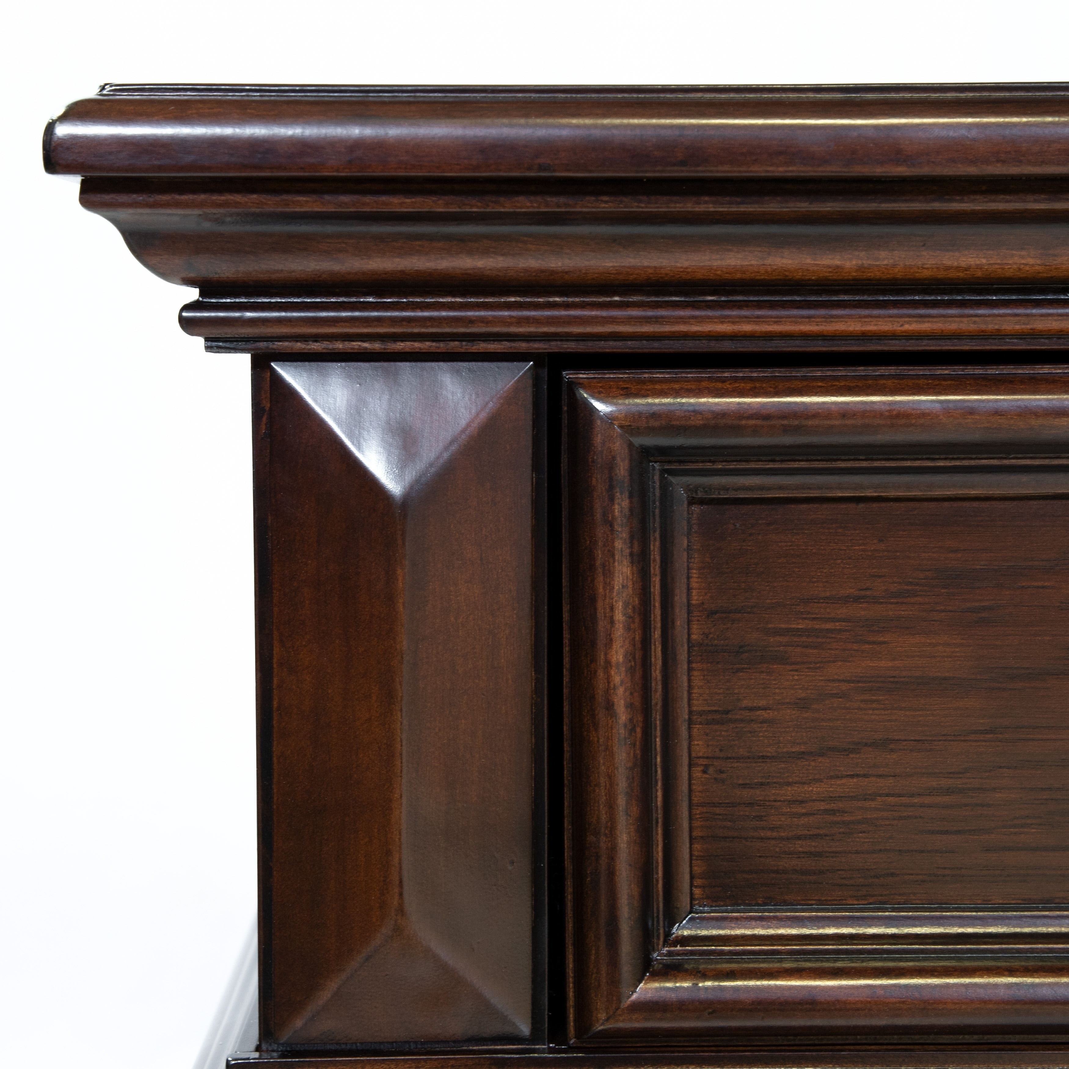Furniture Of America Sumy Traditional Oak Solid Wood Nightstand Overstock 9273135