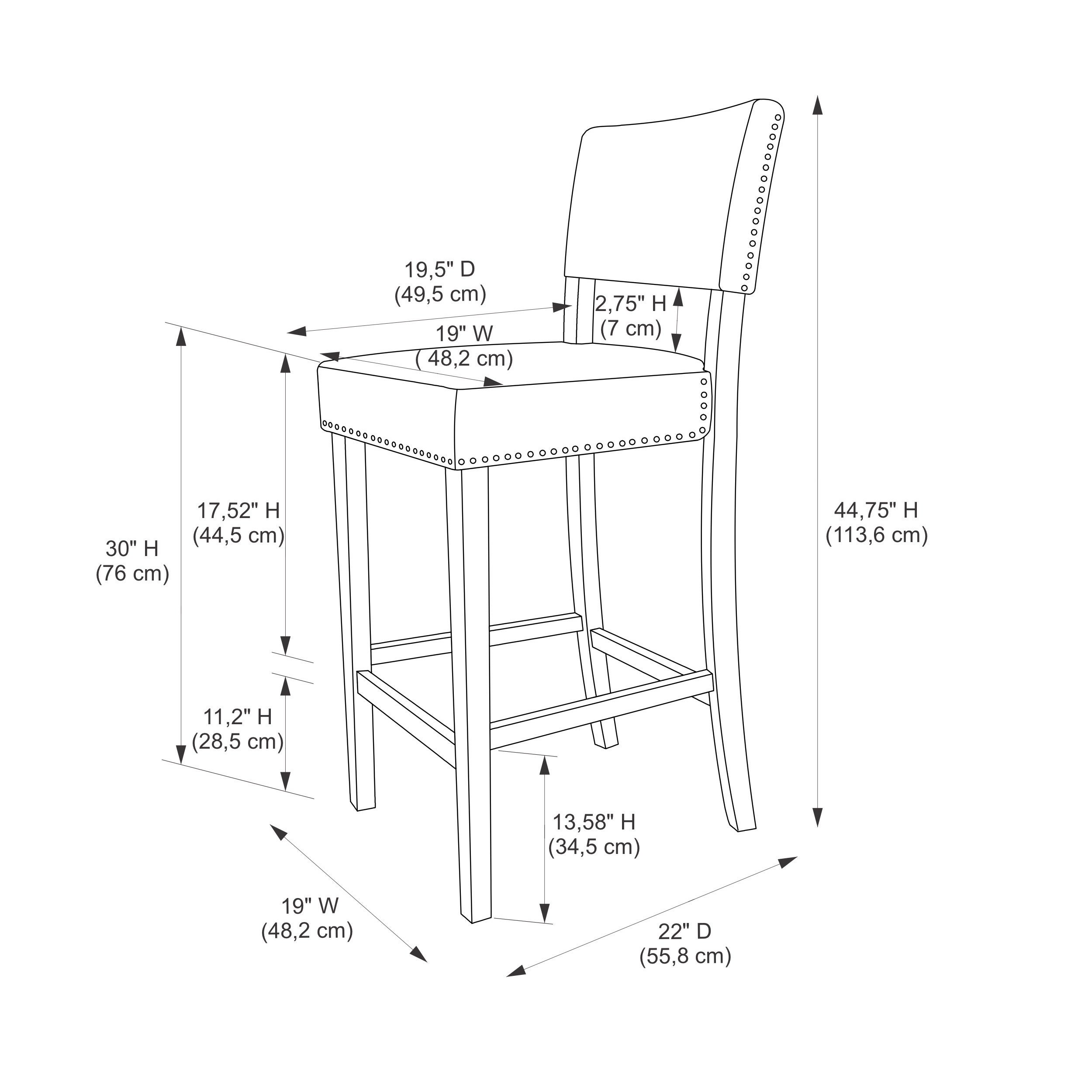 Admirable Linon Holcombe Stationary Bar Stool Cattle Print Upholstery Dailytribune Chair Design For Home Dailytribuneorg