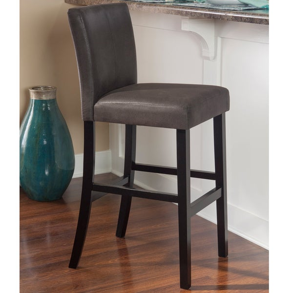 Linon Marrakesh Bar Stool  , Charcoal