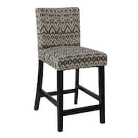Linon Marrakesh Counter Height Stool, Driftwood