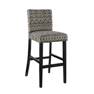 Linon Marrakesh Bar Stool  , Driftwood