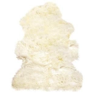 New Zealand Sheepskin Curly Natural Rug (2'x3')