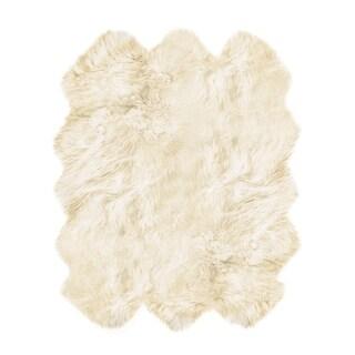 New Zealand Sheepskin Rug 5' 3/4' X 6'