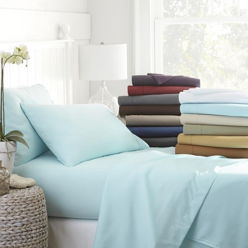 Awesome Becky Cameron Luxury Ultra Soft 4 Piece Bed Sheet Set