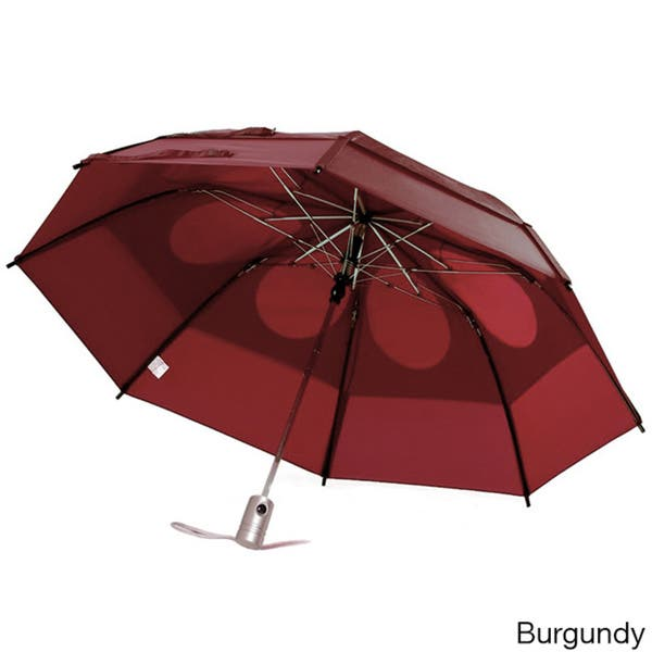 8b962875eae6 Shop GustBuster Metro 43-inch Wind Resistant Automatic Umbrella - On ...