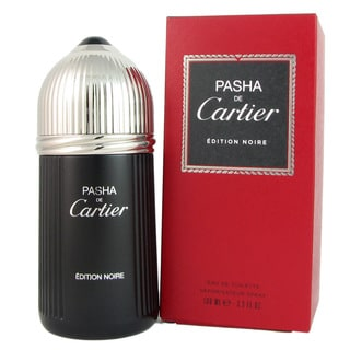Cartier Pasha de Cartier Edition Noire Men's 3.3-ounce Eau de Toilette Spray