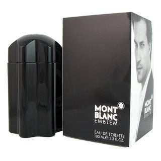Mont Blanc Emblem Men's 3.3-ounce Eau de Toilette Spray
