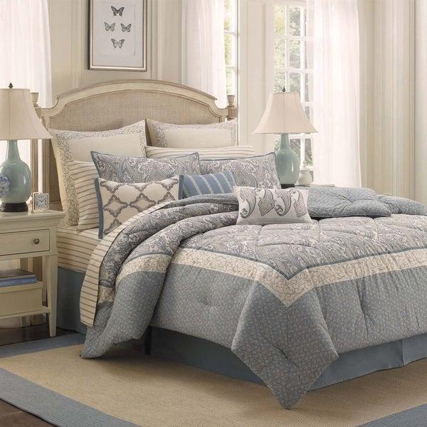 Laura Ashley Whitfield 4-piece Comforter Set
