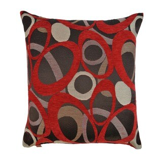 Sherry Kline Oh Red 24-inch Throw Pillow