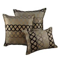 Sherry Kline Knots Combo Throw Pillows (Set of 3)