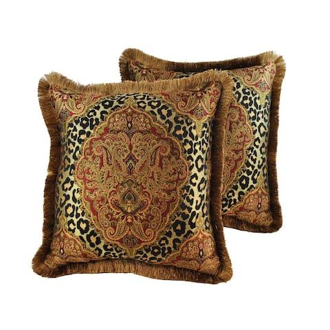 Sherry Kline Tangiers 20-inch Throw Pillows (Set of 2)