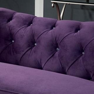 Purple Sofas Couches Amp Loveseats Shop The Best Deals