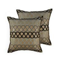 Sherry Kline Knots 20-inch Throw Pillows (Set of 2)