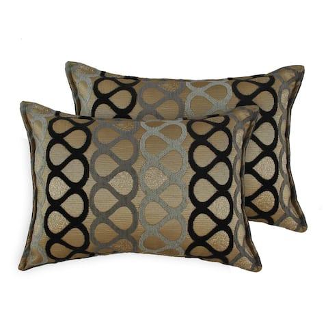 Sherry Kline Knots Boudoir Throw Pillows (Set of 2)
