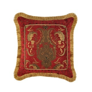 Sherry Kline China Art Red 20-inch Fancy Luxury Pillow