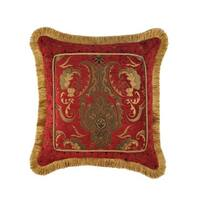 Sherry Kline China Art Red 20-inch Fancy Luxury Pillow