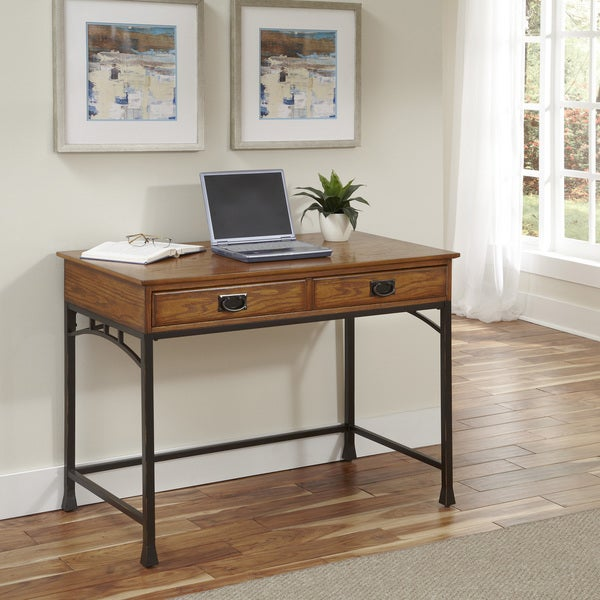 Modern Craftsman Student Desk By Home Styles