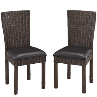 Home Styles Castaway Dining Chair Pair