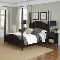 Bermuda Poster Bed and Two Night Stands
