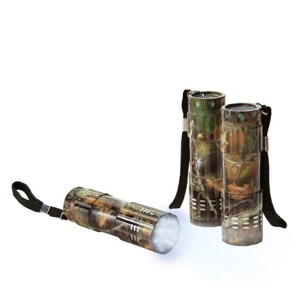Black Series 9 LED Camouflage Flashlights (Pack of 3)