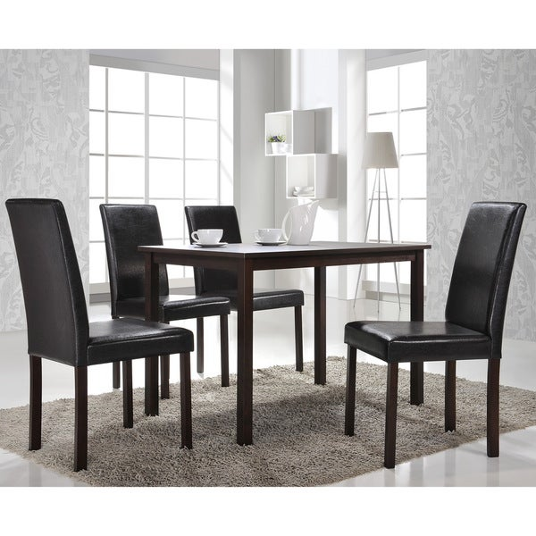 baxton studio andrew 5 piece modern dining set free shipping today