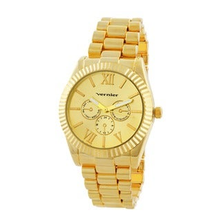 Vernier Women's Status Goldtone Mid-size Watch