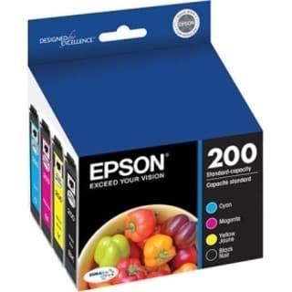Epson DURABrite Ultra 200 Original Ink Cartridge Combo Pack - Cyan, M